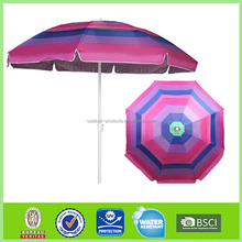 High quality 8 steel ribs Beach umbrella 8 steel ribs sunshade parasol