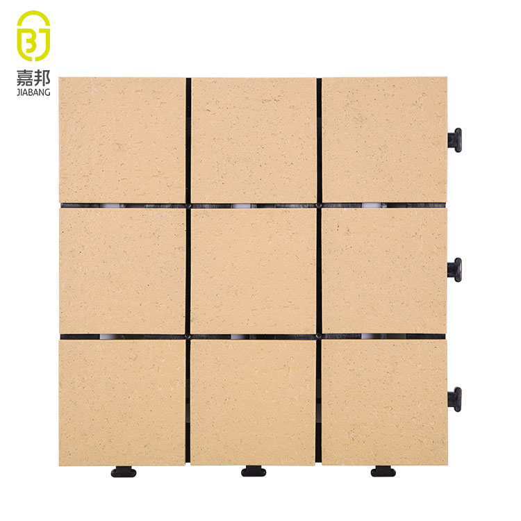 Outdoor discontinued ceramic low floor tile for garden terrace , porcelin tile