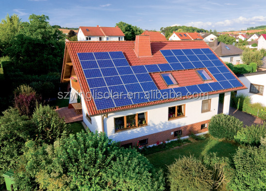 Large Scale Off-Grid Solar Power System 8KW