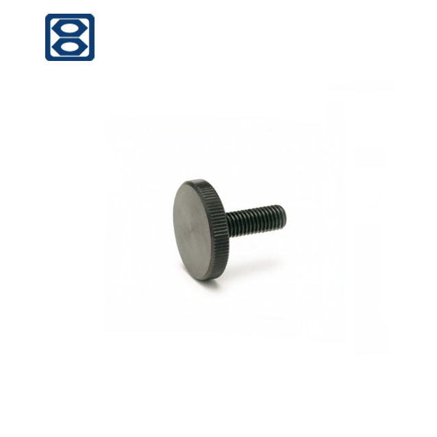 Stainless Steel DIN653 Knurled Thumb Screws Thin Type