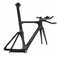 2016 carbon TT bike frames Full carbon time trial bicycle frame TT01
