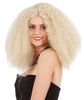 HW0010 Beautiful sexy synthetic wig, white synthetic wig,Afro-hair for women