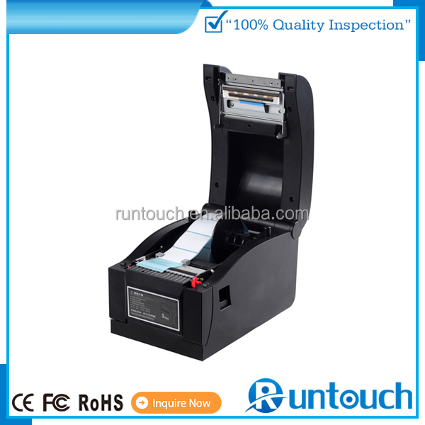 Runtouch barcode label printer /care lable printer/hangtag lable printer cheap price