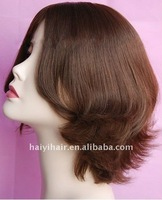 Un processed Natural Virgin Silk Top Kosher Wigs