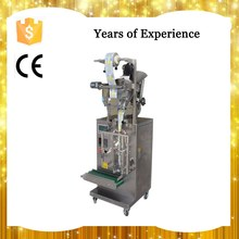 Pauch sample packing machine for cosmetic sampoo