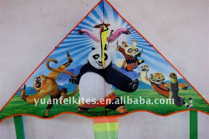 promotional custom delta kite from the kite factory