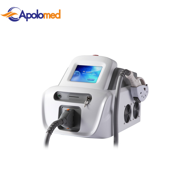 IPL laser beauty device for hair removal and skin rejuvenation home use