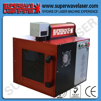 Closed type harmless laser marking machine laser marker