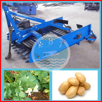The tractor function potato combine harvester