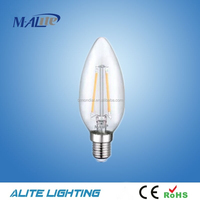 Vintage Edison Style Filament Led Bulb A60,A19,C35,ST64, Glass Cover Led Bulb Light
