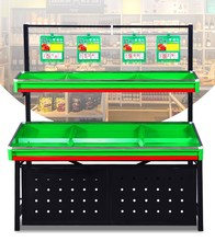China supplier large capacity supermarket fruit vegetable display <strong>shelf</strong>
