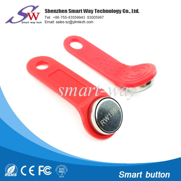 Compact and lightweight ibutton key rw1990 for access control system