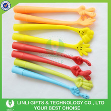 Different Style TPU Flexible Bend Pen