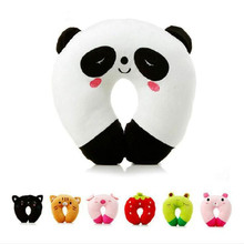 New hot sell Good quality u type pillow custom cartoon travel pillow