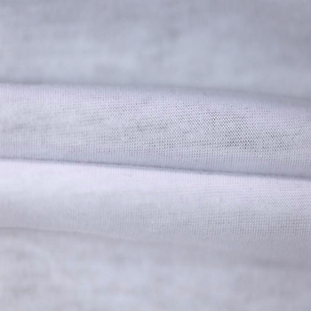 Wholesale Plain White Cotton Fabric 100% Cotton Jersey Fabric