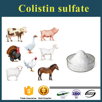 Colistin sulfate Polymyxin E for livestock and animal from pharmaceutical manufacturing companies
