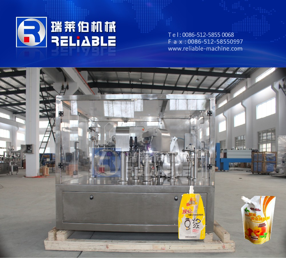 Spouted Pouch Sealing And Filling Machine/Pouch Sealing And Filling Machine/Doypack Package Machinery