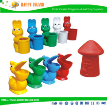 Factory Price CE GS SASO Food Grade Material Teletubbies Dustbin animal trash can