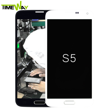 wholesale lcd for Samsung Galaxy S5 G900 G900F G900H G900M, for Samsung Galaxy S5 lcd display with frame