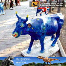 MY Dino-Garden decorative animal statue fiberglass animal cow