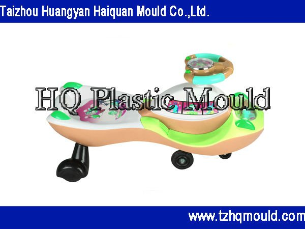 Plastic injection three wheel electric scooter mould