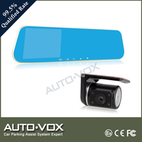 Optional gps 1080p FHD 140 degree viewing angle dual car camera