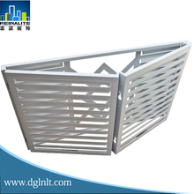 Window A/C Condenser covering shroud cheap Cover plate aluminum architectural cover