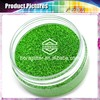 Hexagon 1/24-Inch Laser Green Glitter Powder,1.0mm laser glitter powder HL-008 Details