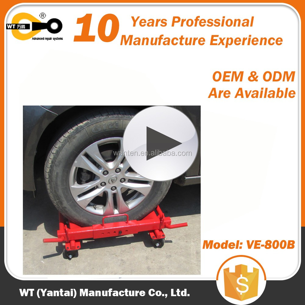 heavy duty NOT Hydraulic Car Wheel Dolly / Vehicle Positioning Jack for sale