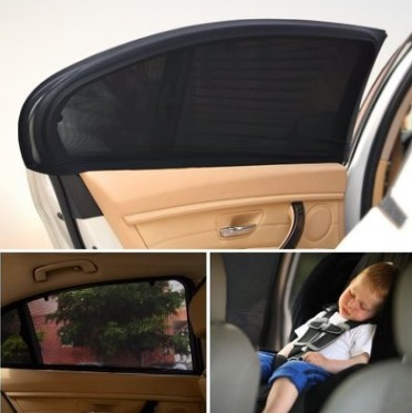 Car <strong>Sun</strong> Shade (2 Pack, Fits Most Large SUVs) | Car Window Shades for Baby, Passengers and Pets Without Clings or Suction Cups