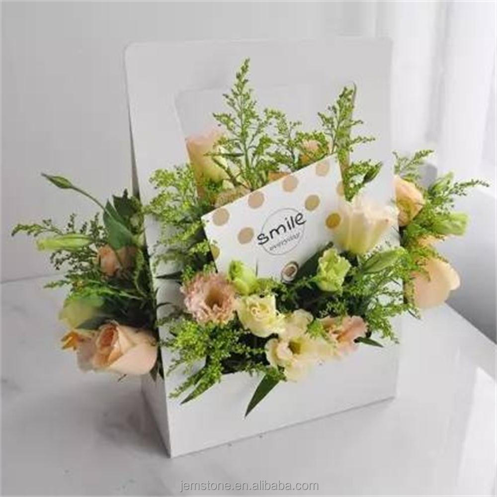 beautiful small craft paper box for flower