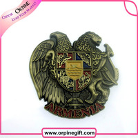 fashionable decorative metal pins military badge