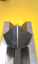 6 facet tungsten carbide anvil/hammer finished for synthetic diamonds