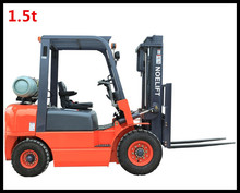 Hydraulic Transmission Container Mast 1.5-3.5 Ton CNG/LPG/Gas Forklift With Solid Tire