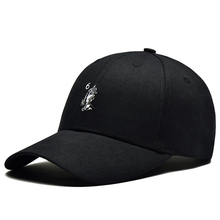 High quality 6 panel black embroidery weight baseball cap made in china