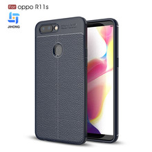 Phone Case Accessaries Leather Pattern Sillicon Cheap Protective Mobile Phone TPU Case for OPPO R11S