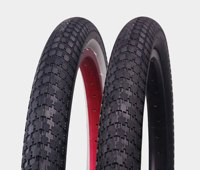 "P1042 20 Inch 2.35"" whitewall coloured bmx bike tires 20x2.125bmx bicycle tire"