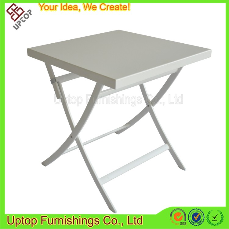 (SP-AT378) Outdoor square picnic dining aluminum folding bistro table