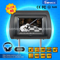 7'' Detachable Headrest DVD Player