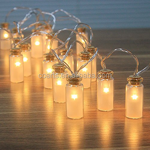 Vintag Glass Jar LED Christmas Fairy Light chain