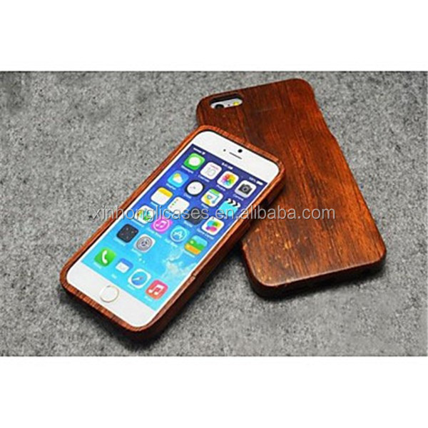 Pear Wood Hard Back Cover for iPhone 6 Plus.For IPhone 6 Plus Wood Case