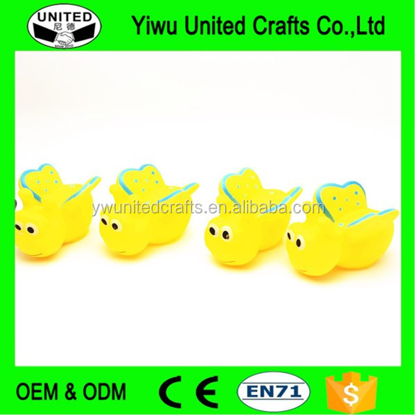 Promotional customized inflatable small plastic animal toy OEM cheap custom made