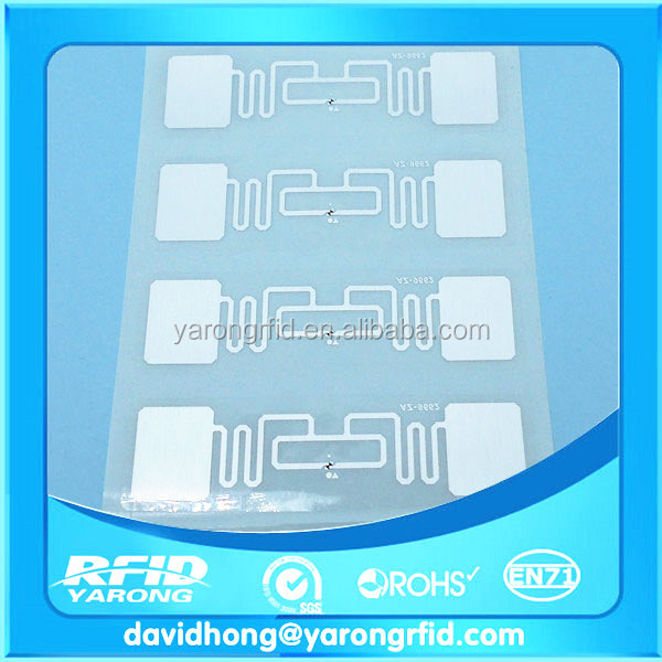 860--960MHz ISO18000-6C EPC G2 long read range UHF RFID tag for logistic management