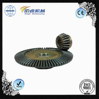 hot sales Heat Treatment customized pinion gear / bevel gear/ worm gear