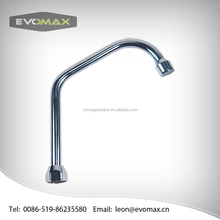 brass faucet spout tube polish and chrome plated faucet
