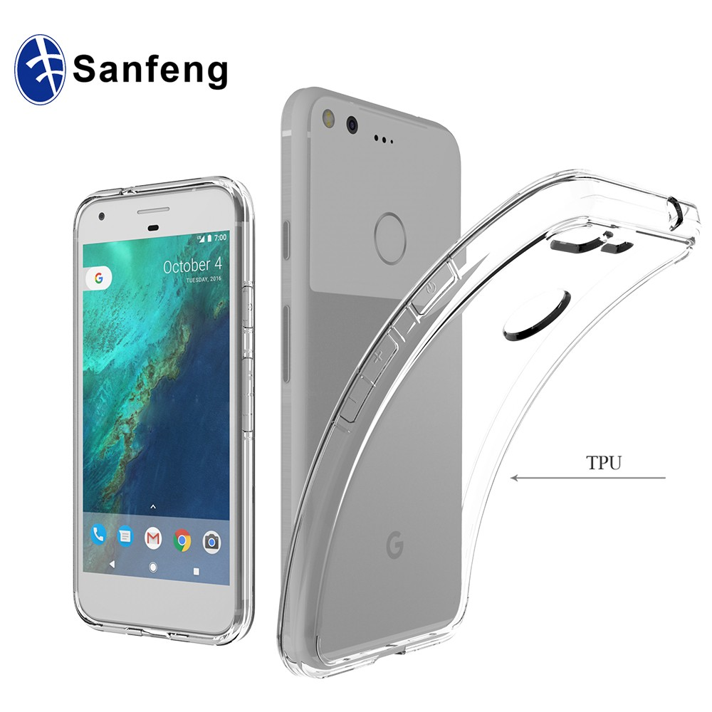 Free Sample Mobile Phone Case for Google Pixel Flexible TPU Gel Case For Pixel XL Back Cover