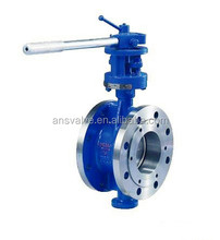 triple offset price butterfly valve for acid