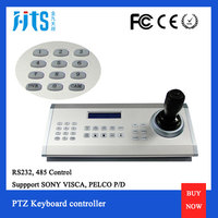 Desk setting for meeting control, universal video conference camera Remote Control Keyboard