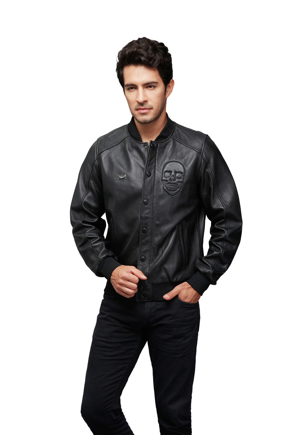 AKleatherware bomber jacket/custom bomber leather jackets