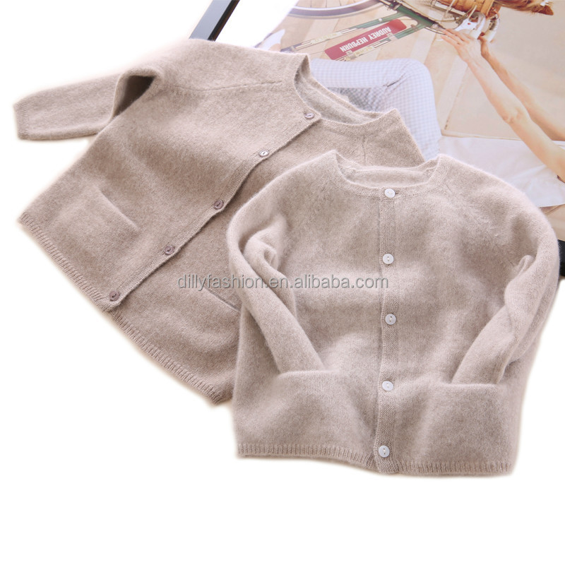 2017 new luxury pure cashmere baby cardigan knitting pattern